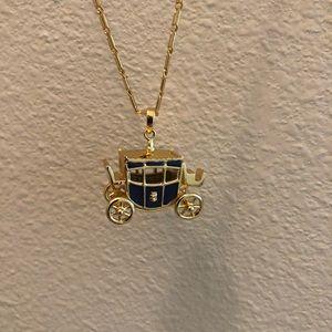 Disney Couture Cinderella carriage necklace